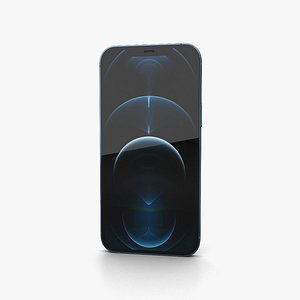 Apple iPhone 13 Pro Max Pacific Blue 3D