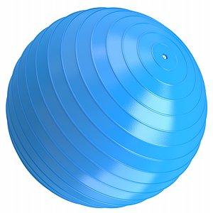 3D model ball yoga