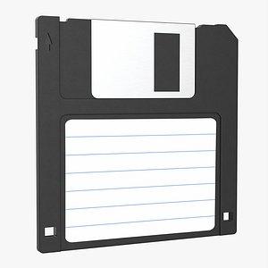 3D model Floppy disk 03