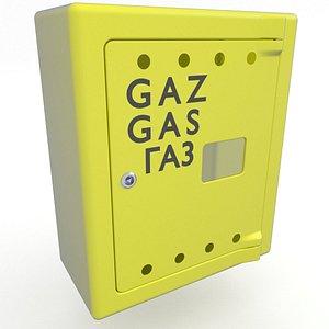 3D Gas Meter Cabinet 5