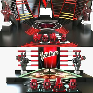 The Voice Stage Collection model