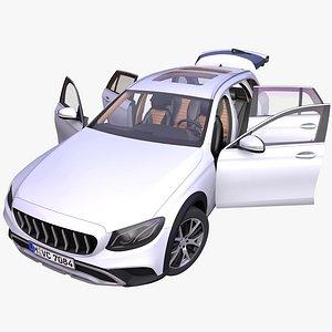 3D generic offroad sport wagon model