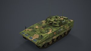 ZBD 04A 3D model