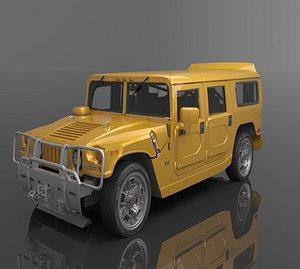 2006 Hummer Jeep 3D model