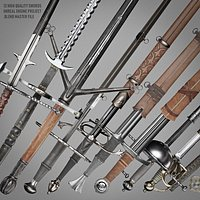 Sword collection Unreal Engine