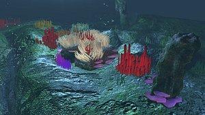Underwater scenes-Part1 3D model