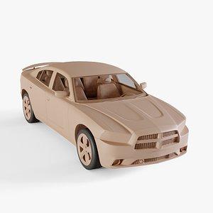 3D 2011 Dodge Charger model