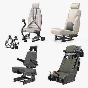 3D pilot seats 2