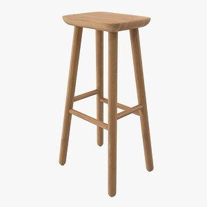 3D bar jasper stool