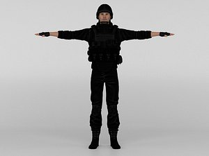3D Commando