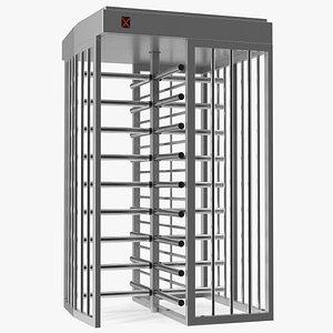 3D Full Height Security Turnstile