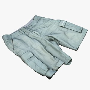 shorts trousers pants 3D model