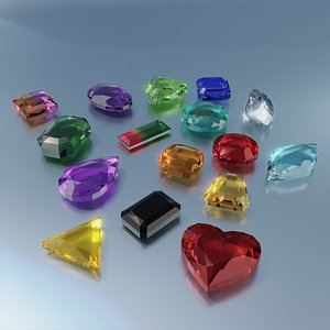 3D Gemstones