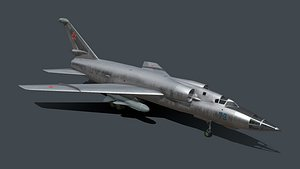 3D Tu-98 Tupolev