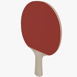 Ping Pong Racket 3D