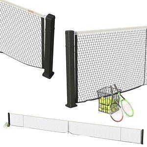 3D Tennis net