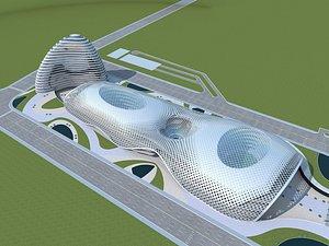 Plaza Complex 3 3D model
