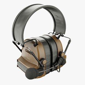 headset military 3D model
