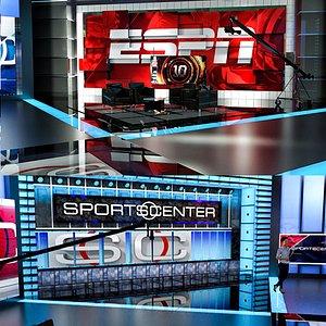 sport sportcenter studio 3D model