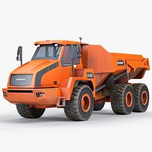 Dump Truck Doosan DA 30 3D