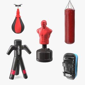 punching dummies 2 3D model