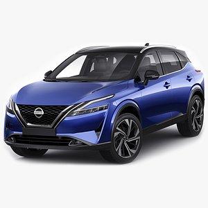 Nissan Qashqai 2022 3D model
