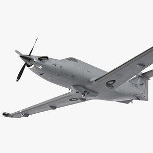 special operations aircraft draco 3D model