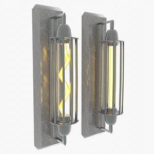 3D Classic Wall Lamp