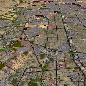 3D Riyadh City May 2021 Textured model