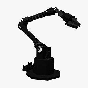 Mechanical robotic arm 3D