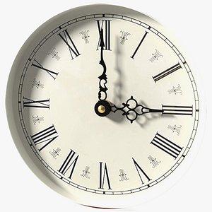 Vintage Clock Face 3D