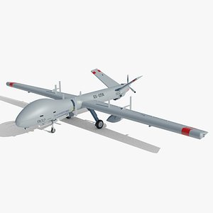 Hermes 900 Drone 3D