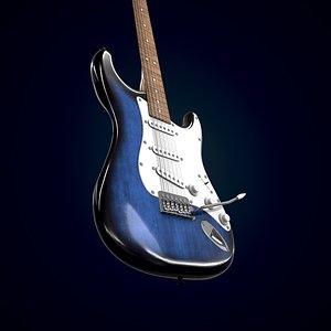 3D model Electric guitar Homage HEG-300