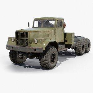 KrAZ-255B Chassis 3D model