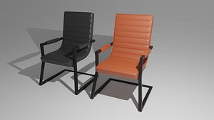 visitor chair 3D