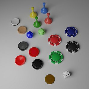 3D Tabletop Game Pieces