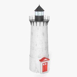 lighthouse light house 3D model