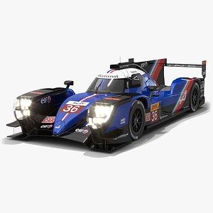 3D Alpine A480 WEC 2021 Hypercar