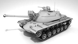 M48A3 Patton 3D model