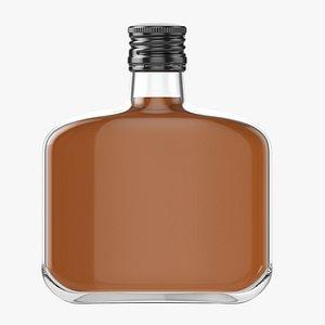 3D Whiskey bottle 22