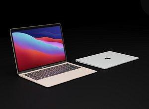 3D apple macbook air 2020