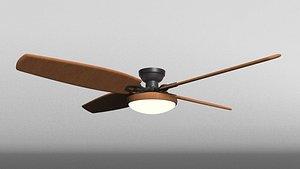 3D ceiling fan room