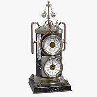 Vertical Boiler Clock