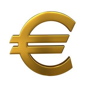 euro sign 3D