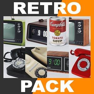3ds max retro style 70 s