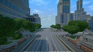 sci-fi city constructor 3D model