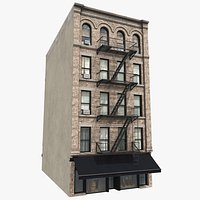 Manhattan Building 01, 8K PBR Textures