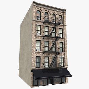 Manhattan Building 01, 8K PBR Textures 3D model