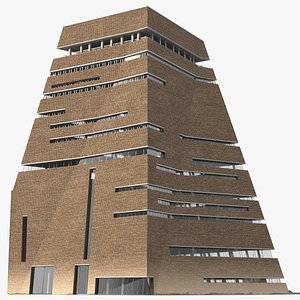 3D Tate Modern Switch House