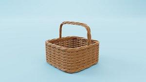 wicker fruit basket model